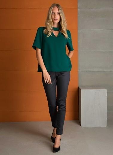 Pierre Cardin Bluz Yeşil